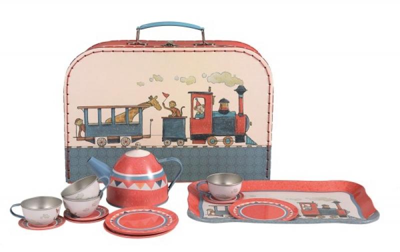 TIN TEA SET TRAIN | Products | Egmont Toys